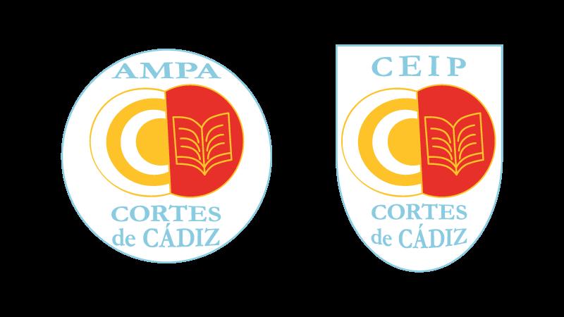 Logotipos AMPA y CEIP Cortes de Cádiz