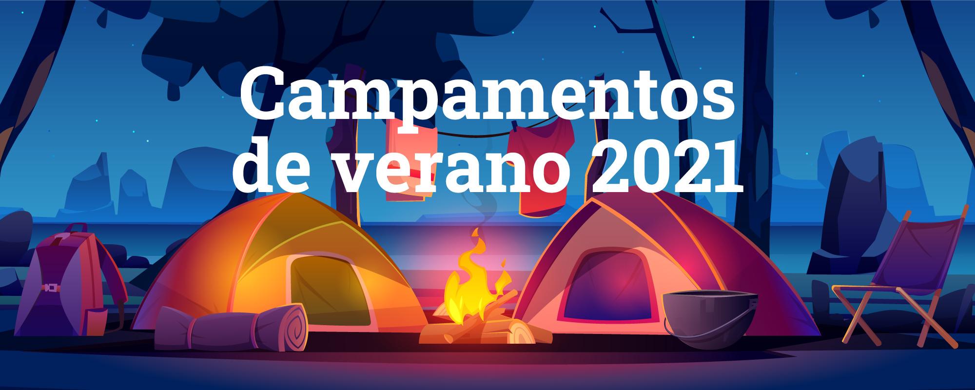 Pulsa para más información sobre los campamentos de verano